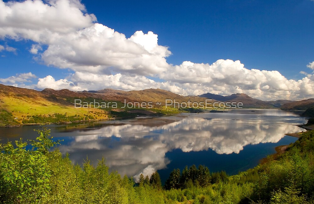 Loch Carron in Springtime. Highlands of Scotland. by PhotosEcosse