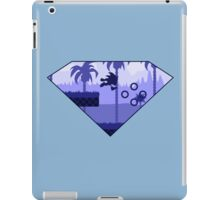 Minimalist Sonic the Hedgehog - Green Hill Zone iPad Case/Skin