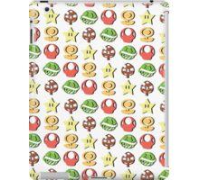 Coloured Mario Items (shadow) iPad Case/Skin