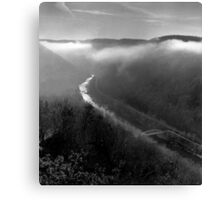 fayette station bridge Canvas Print
