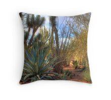 Desert forest Throw Pillow