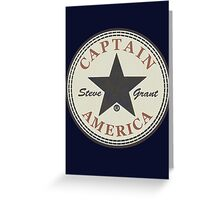 CAPTAIN AMERICA - ALL STAR Greeting Card