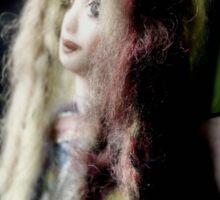 Trisha - a fairy doll´s world Sticker