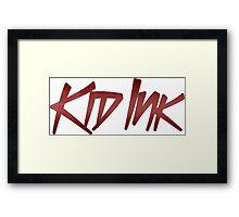 Kid Ink Framed Print