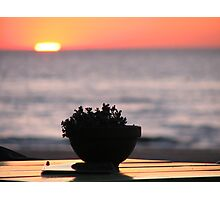 Sunset at the Beach Photographic Print