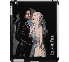 Game of Thrones - Jon Snow, Danaerys iPad Case/Skin