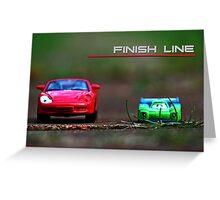 Finish Line Greeting Card