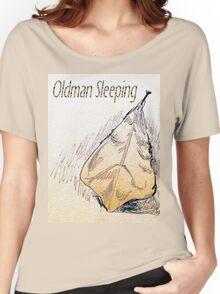 Oldman Sleeping Women's Relaxed Fit T-Shirt