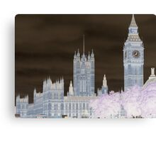 Big Ben and the House's of Parliamenrt. Canvas Print