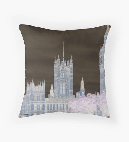 Big Ben and the House's of Parliamenrt. Throw Pillow
