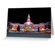 Christmas County Building 1 Greeting Card