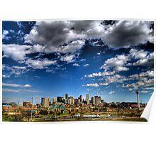 Denver Skyline 1 Poster