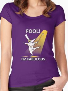 Fool i´m fabulous Women's Fitted Scoop T-Shirt