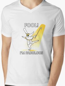 Fool i´m fabulous Mens V-Neck T-Shirt