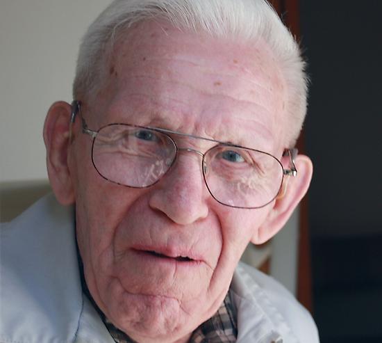 Opa at 91 by Leslie van de Ligt