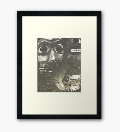 Icons Old and New Framed Print
