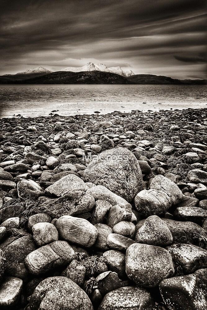 Kyle of Tongue, Sutherland, Scotland by Martina Cross