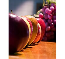 Apples and Grapes Photographic Print