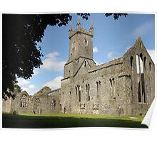 Ennis Friary Poster