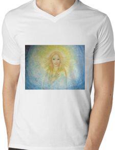 The source of light Mens V-Neck T-Shirt