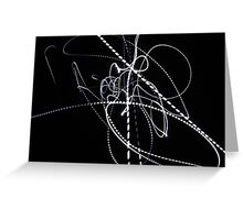 Join the dots Greeting Card