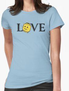 LOVE Bricks Womens Fitted T-Shirt