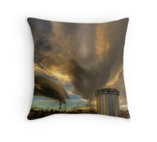 Haunted Hotel 1 Throw Pillow