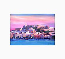 Ibiza Eivissa Old Town And Harbour Pearl Of The Mediterranean  T-Shirt