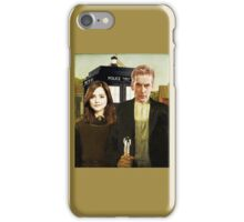 Gallifreyan Gothic iPhone Case/Skin