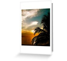 Negril Beach 1 Greeting Card