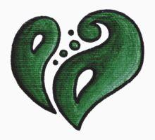 Strength / قوة (green) Kids Tee