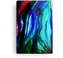 Cloaked In Paint  Metal Print