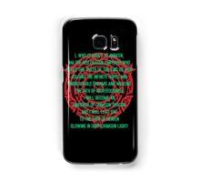 Cardinal Crimson Full Drive Samsung Galaxy Case/Skin