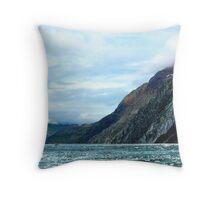 Glacier Bay Grandure_5 Throw Pillow