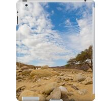 Enduring Acacia tree survives in the Desert iPad Case/Skin