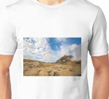 Enduring Acacia tree survives in the Desert Unisex T-Shirt
