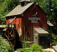 Harper's Mill by artisandelimage