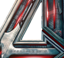 The Avengers-Age of Ultron Logo Sticker