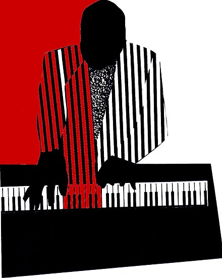 Piano Player by Philip Gresham