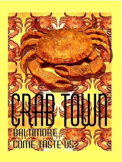 Poster_Baltimore, Come Taste Us by Hope Ledebur