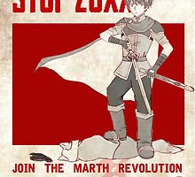 Marth Propaganda Poster by claywing