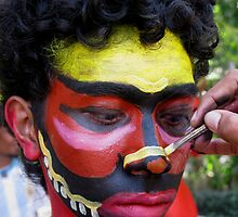Face painting by Meli Fernandes by Arte Moris