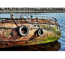 Where do all the old boats go Photographic Print