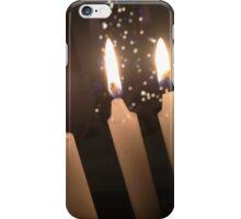 Candles and Christmans Trees iPhone Case/Skin