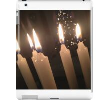 Candles and Christmans Trees iPad Case/Skin