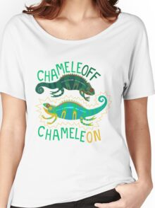 Chameleoff, Chameleon Women's Relaxed Fit T-Shirt