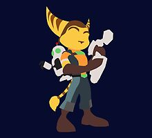 Ratchet and Clank by spyrome876