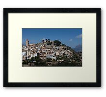 Polop Costa Blanca Spain Framed Print