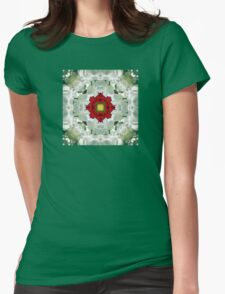 Kaleidoscope Tulips Womens Fitted T-Shirt
