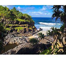 Maui Coastline Photographic Print